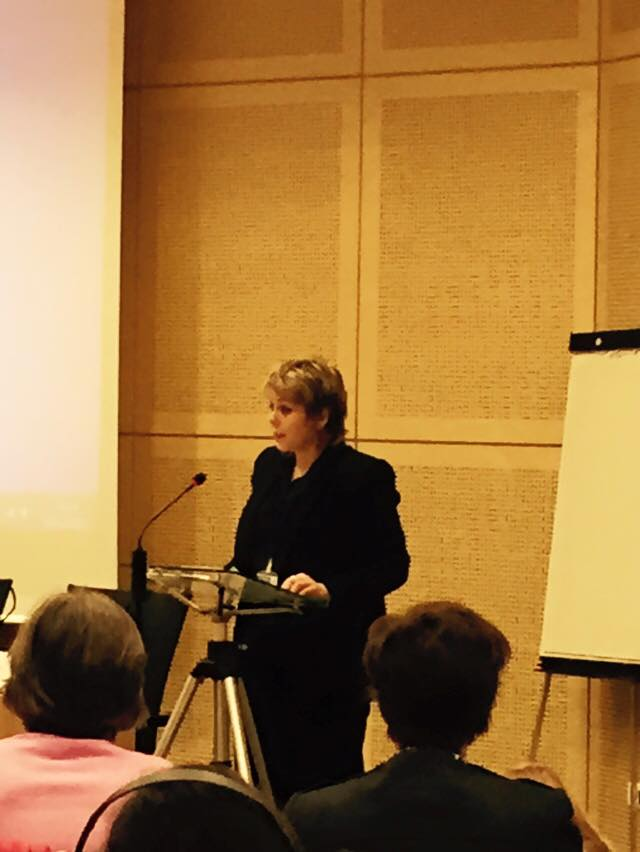 Anna RURKA : President of the Conference of INGO of the Council of Europe !